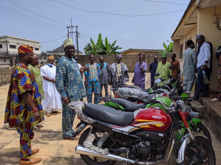 YORUBA KO'YA LEADERSHIP AND TRAINING FOUNDATION GRADUATES PIONEER SET OF FARM-MANAGERS AND HANDS OVER FARM PATROL MOTORCYCYCLES
